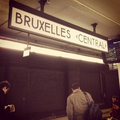 Photo taken at Gare de Bruxelles-Central / Station Brussel-Centraal by Zach L. on 4/24/2013