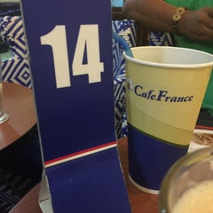 Photo taken at CafeFrance by lechar09 on 3/16/2015
