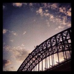 Photo taken at Sydney Harbour Bridge by Zoë on 3/18/2013