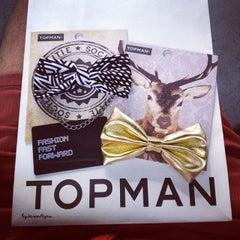 Photo taken at Topman by Jason S. on 4/29/2014