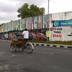 Photo taken at Stadion Kridosono by Fis I. on 8/3/2014