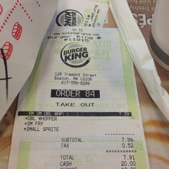 Photo taken at Burger King by Noel A. on 3/24/2013