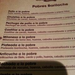 Photo taken at Bariloche Restaurant by Javi M. on 5/5/2013