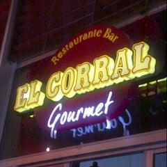 Photo taken at El Corral Gourmet by Leonardo R. on 3/9/2013