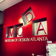 Photo taken at Museum of Design Atlanta (MODA) by Tyler L. on 3/20/2013