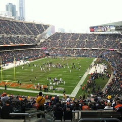 Photo taken at Soldier Field by Tom S. on 12/2/2012