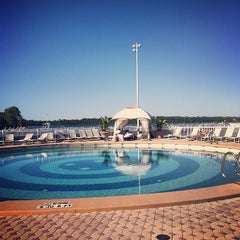 Photo taken at Contemporary Resort Pool by Luis F. on 5/4/2014