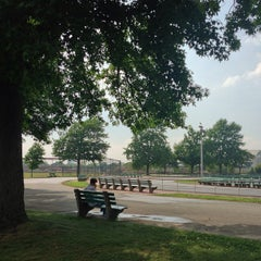 Photo taken at Eisenhower Park Field 2 by Jason P. on 7/10/2013