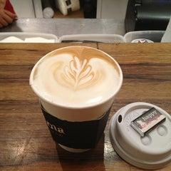 Photo taken at Aroma Espresso Bar by Metin H. on 1/31/2013