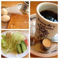 Photo taken at コメダ珈琲店 金剛東店 by bluemoon_anne on 1/3/2013