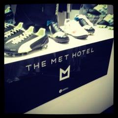 Photo taken at The MET Hotel by Panagiwtis V. on 1/19/2013