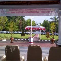 Photo taken at KANTOR BUPATI LOTIM by Dwi Hendro S. on 12/16/2013
