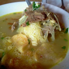 Photo taken at Soto Ngawi Margonda by @TravelAwan on 9/7/2013