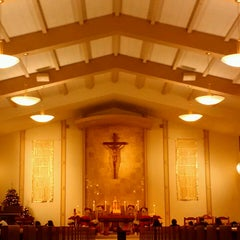 Photo taken at St. Justin Martyr Church by Jerrin T. on 12/25/2013