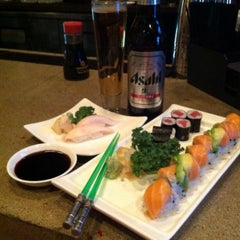 Photo taken at Nagoya Japanese Steakhouse & Sushi by T.J. on 12/16/2013