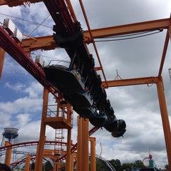 Photo taken at Iron Dragon by Thomas R. on 8/28/2014