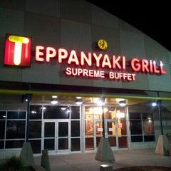 Photo taken at Teppanyaki Grill & Supreme Buffet - Minneapolis by Jeremiah V. on 10/20/2012