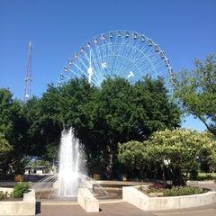 Photo taken at Fair Park by Nina B. on 5/5/2013