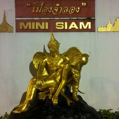 Photo taken at เมืองจำลอง (Mini Siam) by Andrey C. on 7/24/2013