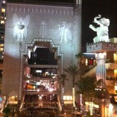 Photo taken at Hollywood & Highland Center by Erik W. on 11/9/2012