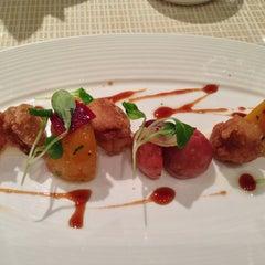 Photo taken at Maze Restaurant by Sabrina W. on 1/21/2013