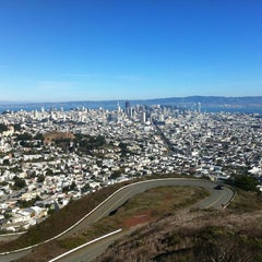 Photo taken at Twin Peaks Summit by Sudeep C. on 11/4/2012