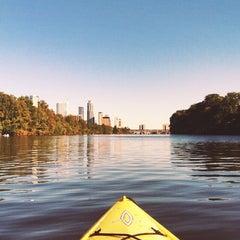 Photo taken at Rowing Dock by Josh K. on 10/19/2013