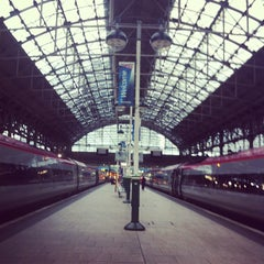 Photo taken at Manchester Piccadilly Railway Station (MAN) by Caryll G. on 11/13/2012