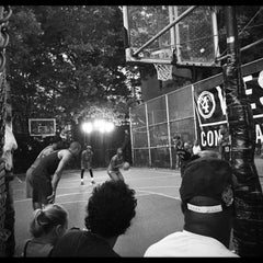 Photo taken at West 4th Street Courts (The Cage) by Michiel B. on 7/29/2015