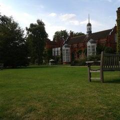 Photo taken at Newnham College by Sertaç S. on 7/26/2014