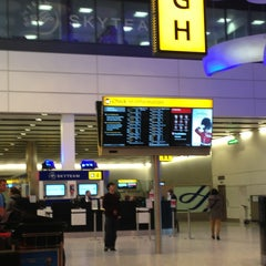Photo taken at Terminal 4 by Rana A. on 1/9/2013