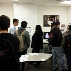 Photo taken at Entrepreneurship Lab by Nikhil K. on 12/5/2013