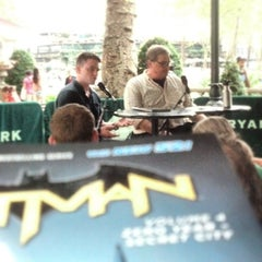 Photo taken at The Reading Room - Bryant Park by Jason S. on 8/13/2014