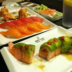 Photo taken at Joe's Sushi by Wendy W. on 5/22/2014