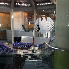 Photo taken at Reichstag by Stephan K. on 1/25/2013