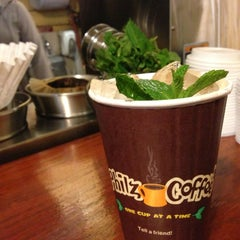 Photo taken at Philz Coffee by Charlie F. on 1/18/2013