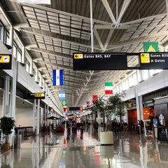 Photo taken at Washington Dulles International Airport (IAD) by Milko R. on 9/2/2013