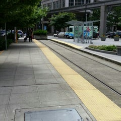 Photo taken at South Lake Union Streetcar by Beer J. on 6/21/2015