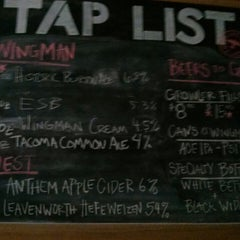 Photo taken at Wingman Brewers by Beer J. on 5/19/2013
