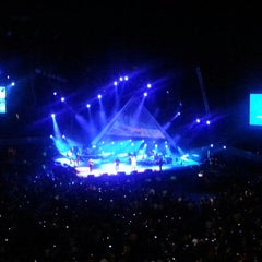 Photo taken at Arena Ciudad de México by GAbriela D. on 10/17/2013
