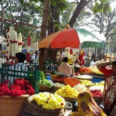 Photo taken at Gandhi Bazaar by Aj on 1/6/2013
