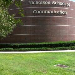 Photo taken at UCF Nicholson School of Communication by Gary B. on 10/11/2012