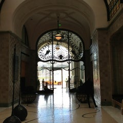 Photo taken at Four Seasons Hotel Gresham Palace Budapest by Brett on 3/11/2013