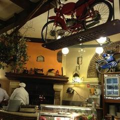 Photo taken at L'Isola della Pizza by Alexandra K. on 7/19/2013