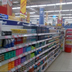 Photo taken at Carrefour by Meity Y. on 2/25/2014