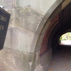 Photo taken at Endale Arch - Prospect Park by Max S. on 11/16/2014