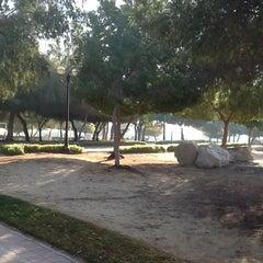 Photo taken at Al Mamzar Park (حديقة الممزر) by Elena S. on 1/20/2013