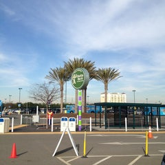 Photo taken at Toy Story Parking Lot by Lena A. on 12/21/2012