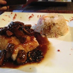 Photo taken at Barsi Thai Grill by Juan Pablo G. on 2/27/2013