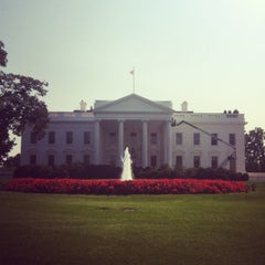 Photo taken at The White House Southeast Gate by Christina C. on 9/25/2012